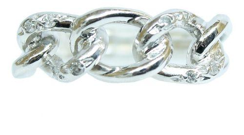 Anel Ouro Branco 18k Diamantes 12x S/j Ft/gt 2665
