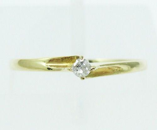 Anel De Ouro 18k750 Diamante 2142