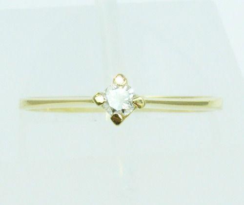 Anel De Ouro 18k750 Diamante 2103