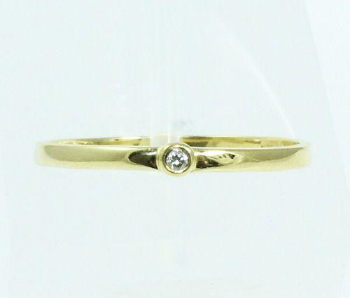 Anel De Ouro 18k750 Diamante 2102