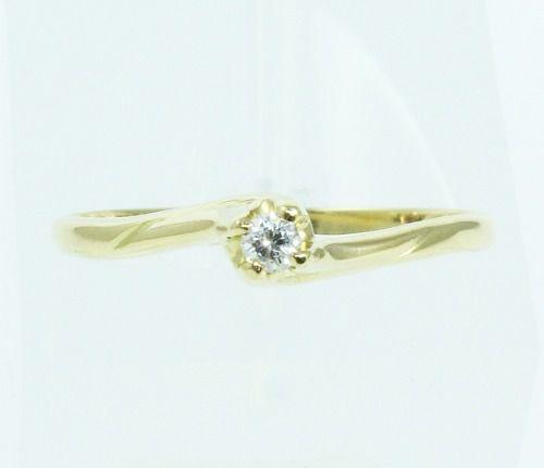 Anel De Ouro 18k750 Diamante 2092