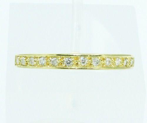 Anel De Ouro 18k750 Diamantes 2091