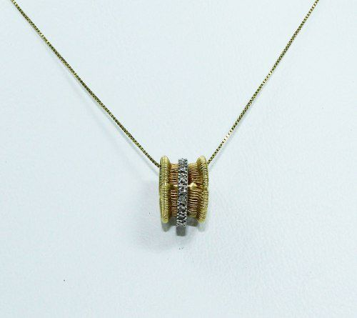 Colar De Ouro 18k750 Grife Vivara Diamantes C215