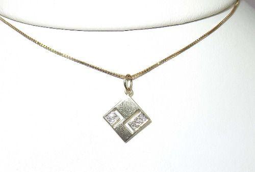 Colar De Ouro 18k750 Diamantes Vivara C163