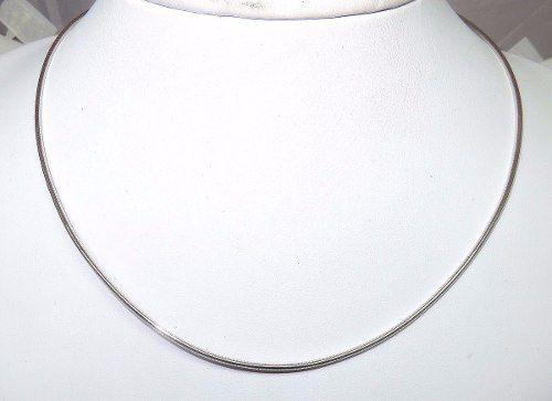 Corrente De Ouro Branco 18k750 C148