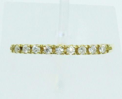 Anel De Ouro 18k750 Diamantes 2055