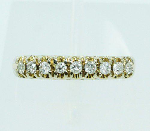 Anel De Ouro Branco 18k750 Diamantes 2219
