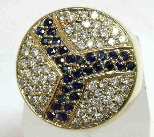 Anel De Ouro 18k750 Diamantes 741