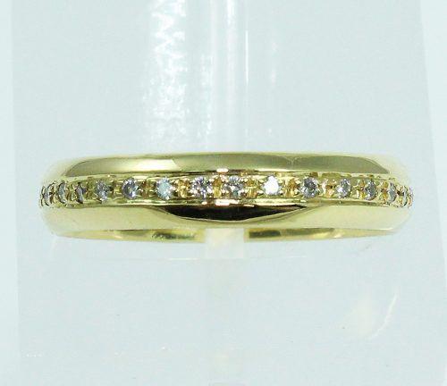 Anel De Ouro 18k750 Diamantes 2025