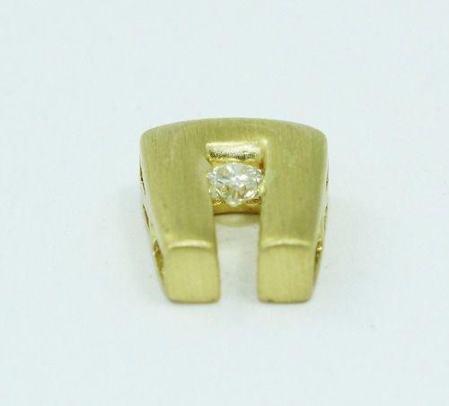 Pingente De Ouro 18k750 Diamante P664