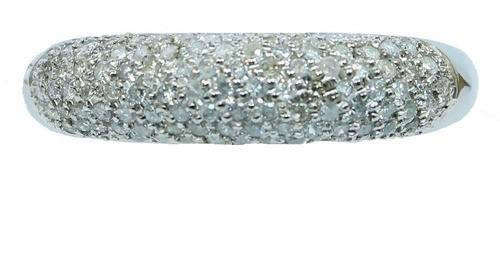 Anel De Ouro 18k750 Diamantes 12x S/j Ft/gt 2697