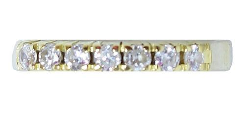 Anel De Ouro 18k750 Diamantes 2955