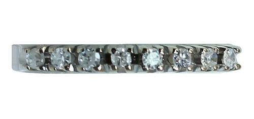 Anel De Ouro 18k 750 Diamantes 2791