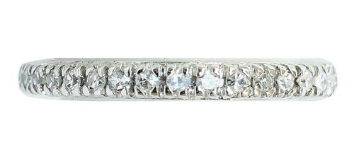 Anel De Ouro 18k 750 Diamantes Inteiro 2832