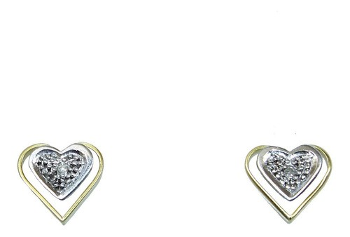Brinco De Ouro 18k750 Diamantes 12x Sj Ft/gt B938