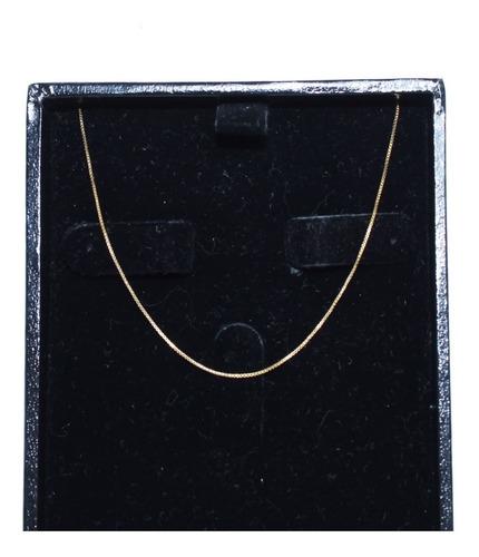 Colar De Ouro 18k 750 Lisa C405