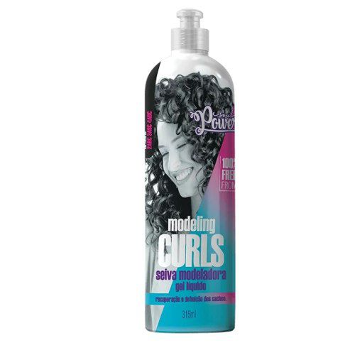 Gel Liquido Soul Power Modeling Curls Seiva Modeladora 315ml