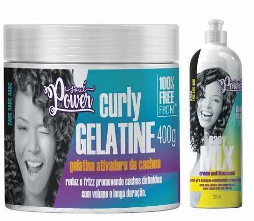 Soul Power Gelatina + Creme Multifuncional