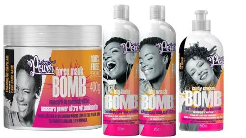 Kit Soul Power Cachos Linha Bomb 4 Produto