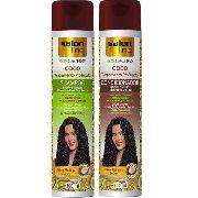 Shampoo + Condiconador Salon Line S.o.s Cachos Coco