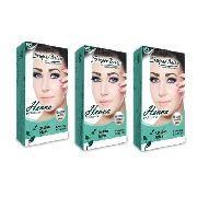 Kit 3 Henna Super Bella 1.25g Cores A Escolha