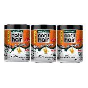 Creme Para Pentear Natu Hair Óleo De Rícino 3x1kg
