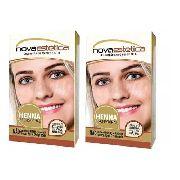 Kit Henna Para Sobrancelha Nova Estética 12 Cores A Escolha