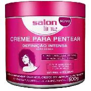 Creme Para Pentear 500g Definicao Intensa Salon Line