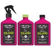 Volumão Kit Shampoo+cond+spray - Lola Cosmetics