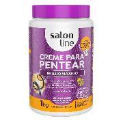 Creme Para Pentear Salon Line 1k Brilho Máximo