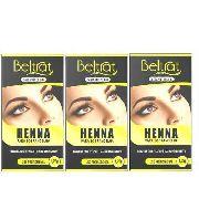 Kit Henna Para Sobrancelha Beltrat 3 Cores