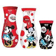 Kit Minnie Rocks The Dots - Shampoo + Condicionador+ Pentear