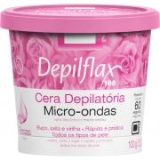 Cera Depilatória Depilflax 100G Micro Ondas Rosas
