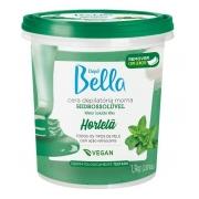 Cera Hidrossolúvel Depil Bella 1,3kg Hortela