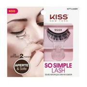 Cílios Postiços Inteiriços com Aplicador Kiss New York