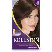 Coloração Koleston Kit 50 Castanho Claro - Wella
