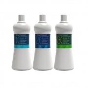 Combo Água Oxigenada Beautycolor 10 + 20 + 30 Volumes 1l