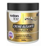Creme Alisante Salon Line Manga 500g Médio