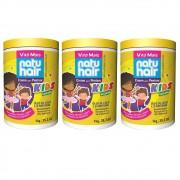 Creme para Pentear NatuHair Kids Vegano 3X1kg