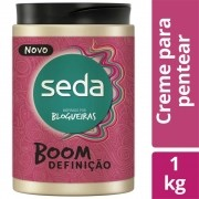 Creme Para Pentear Seda Boom Definição 1kg