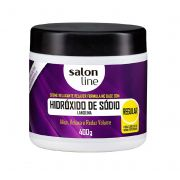 Creme Relaxante Hidróxido De Sódio Regular 400g - Salon Line