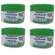 kit Creme Esfoliante Universal Max Cosmeticos c/4unds.