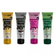 Kit De Skincare Gel Facial Peel Off Dermachem (4 ítens)