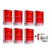 Kit Henna Para sobrancelhas Expressão Facial 7 cores  + Pote  Dappen