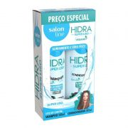 Kit Salon Line Hidra Super Liso Shampoo + Condicionador 300ml
