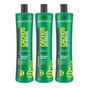 Kit Shampoo+cond E Leave-in Elegance 1l Cachos