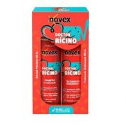Kit Shampoo e Condicionador Doctor Rícino Novex