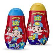 kit shampoo e condicionador luccas neto todos os tipos de cabelo