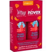 Kit Shampoo e Condicionador Vitay Bomba de Amor