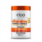 Máscara De Tratamento Eico Vitamina D 1Kg